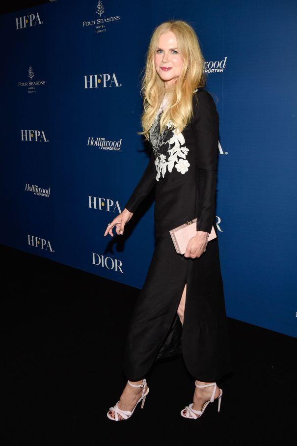 Nicole Kidman Stuns At HFPA Party