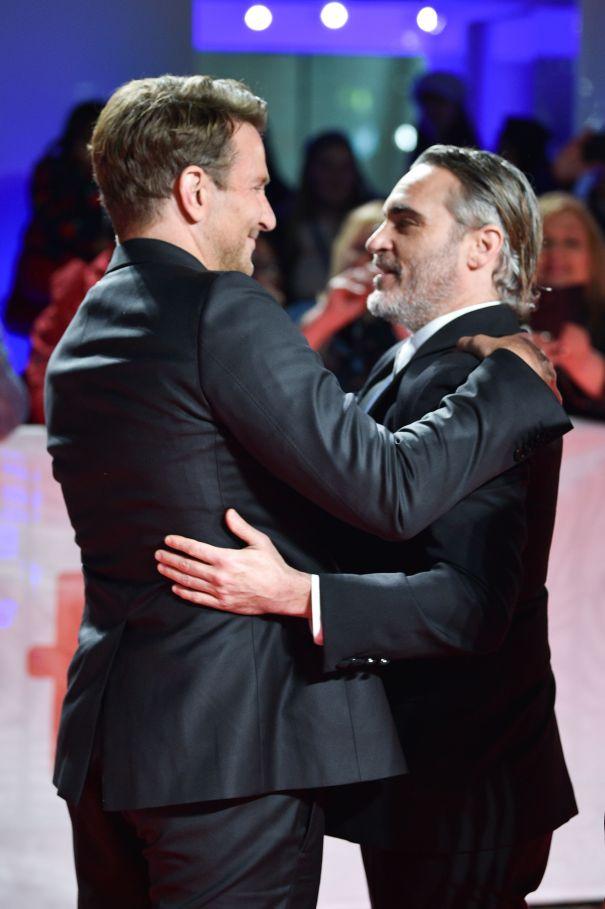 Bradley Cooper and Joaquin Phoenix