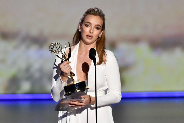 Jodie's First Emmy