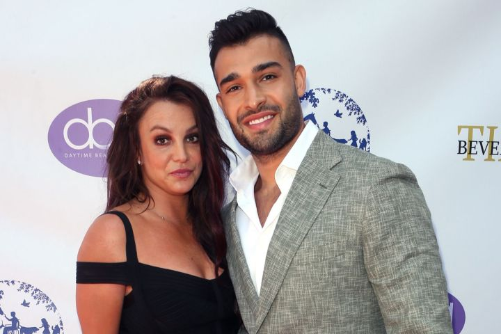 Britney Spears and Sam Asghari - MediaPunch/Shutterstock