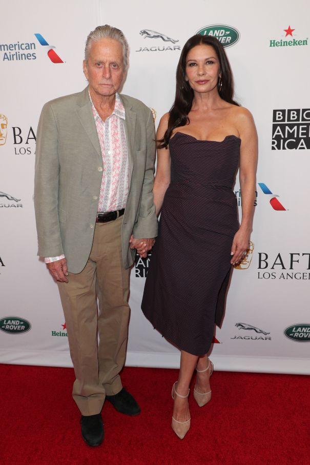 Micheal Douglas And Catherine Zeta-Jones