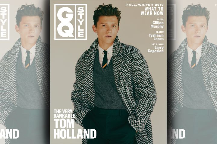 Tom Holland. Photo: Fanny Latour-Lambert for GQ Style