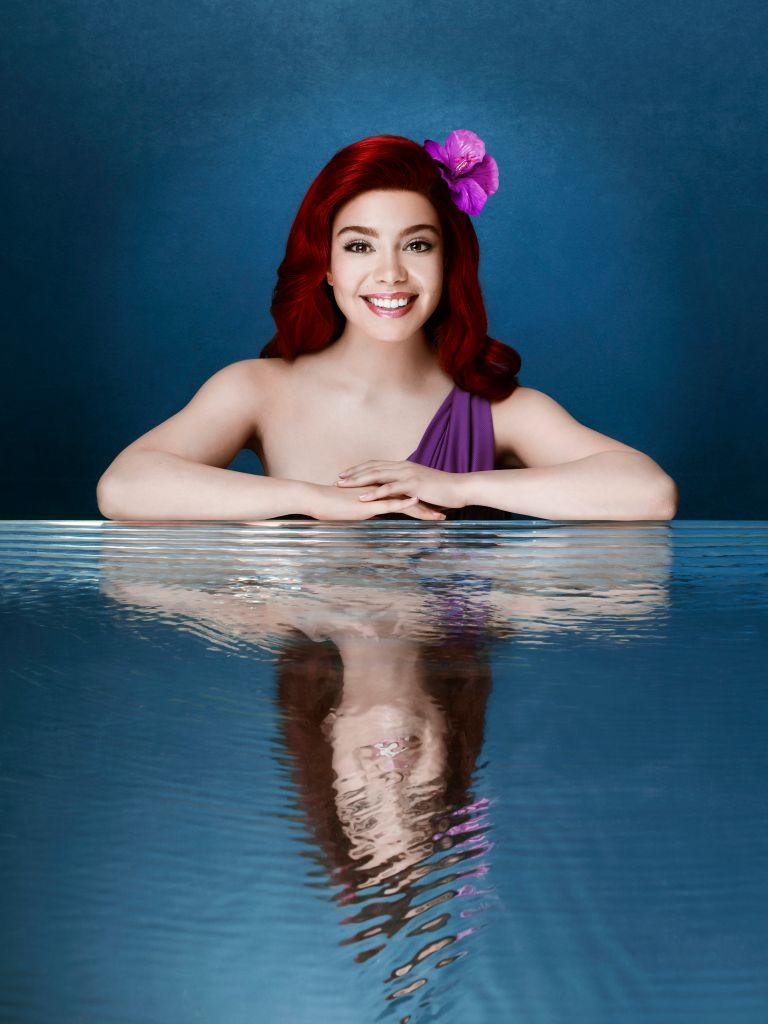Auli'i Cravalho as Ariel. (ABC/Andrew Eccles)