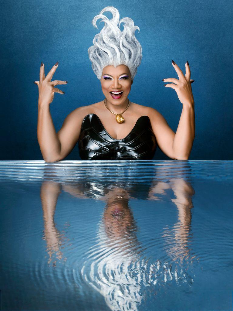Queen Latifah as Ursula. (ABC/Andrew Eccles)