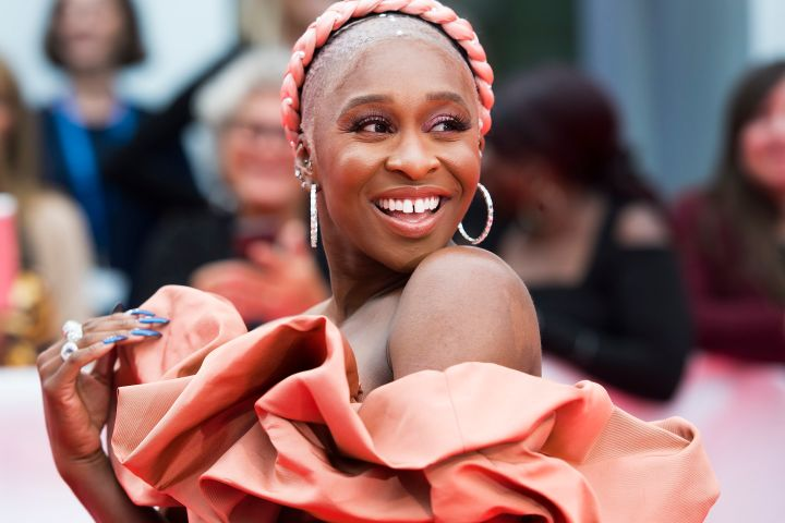 Cynthia Erivo. Photo: THE CANADIAN PRESS/Nathan Denette