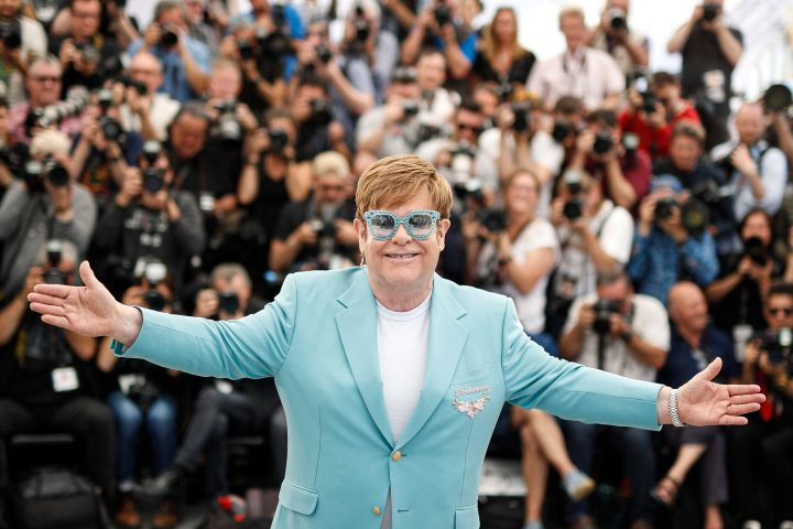 Elton John. Photo: EPA/Julien Warnand