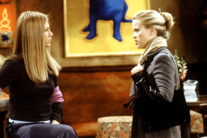 PREMIUM --   FRIENDS, Jennifer Aniston, Reese Witherspoon, (Season 6), 1994-2004, © Warner Bros. / Courtesy: Everett Collection