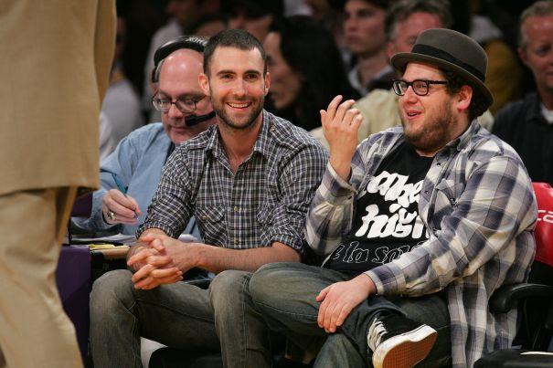 Adam Levine & Jonah Hill