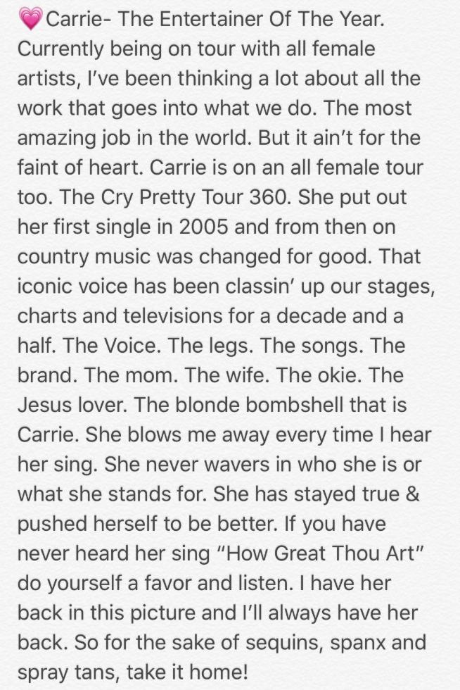 Twitter/Miranda Lambert