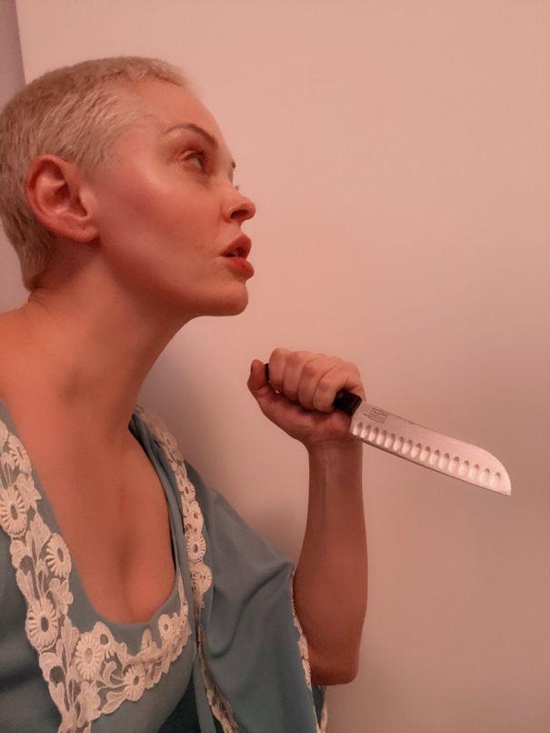 Rose McGowan As Mia Farrow