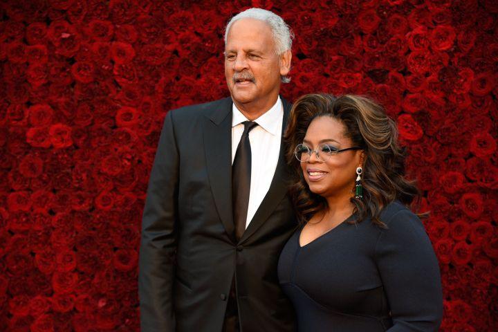 Stedman Graham and Oprah Winfrey: Paul R. Giunta/Getty Images