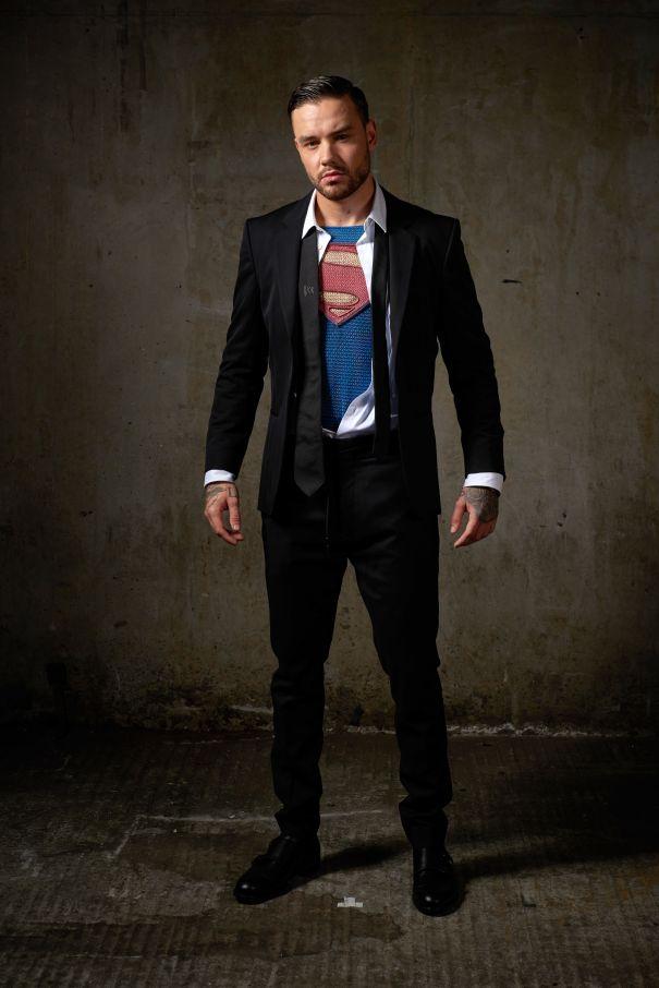 Liam Payne Soars As Superman