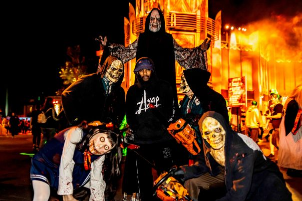 Kendrick Lamar Plays It Cool With Some Ghouls