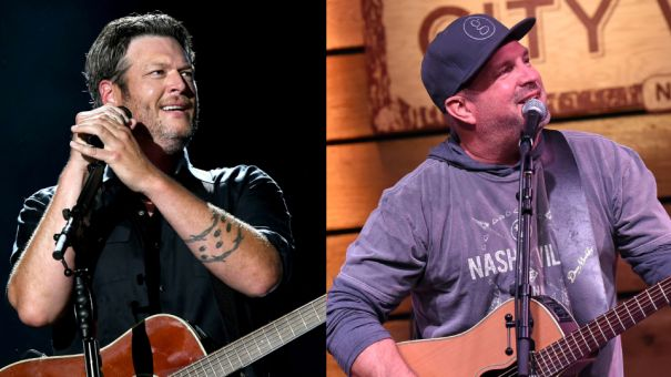 Blake Shelton + Garth Brooks