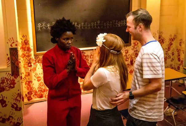 Lupita Nyong'o Scares Unsuspecting Fans