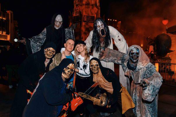 Miley Cyrus, Jeremy Scott Celebrate Halloween
