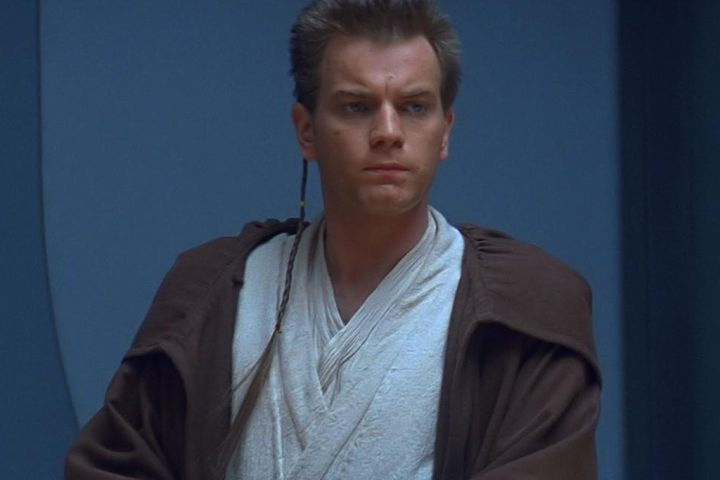 Ewan McGregor as Obi Wan Kenobi in 1999's 'Star Wars: Episode I — The Phantom Menace.'