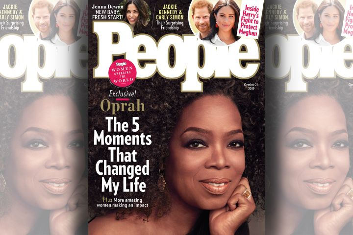 Oprah Winfrey. Photo: People Magazine