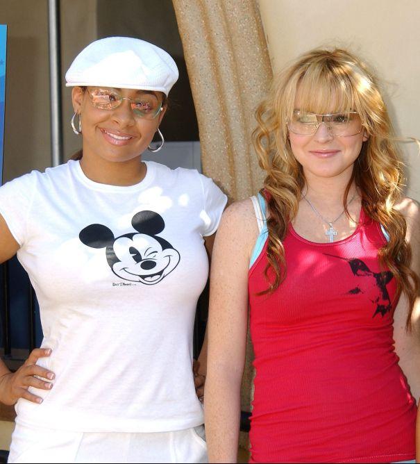 Lindsay Lohan & Raven-Symoné