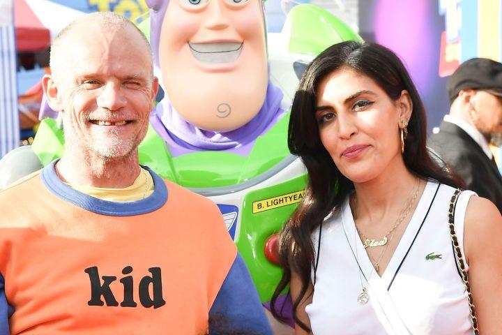 Flea and Melody Ehsani - Rob Latour/Variety/Shutterstock