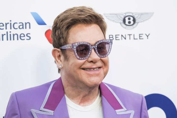 Elton John. Photo: Laurent VU/SIPA/Shutterstock