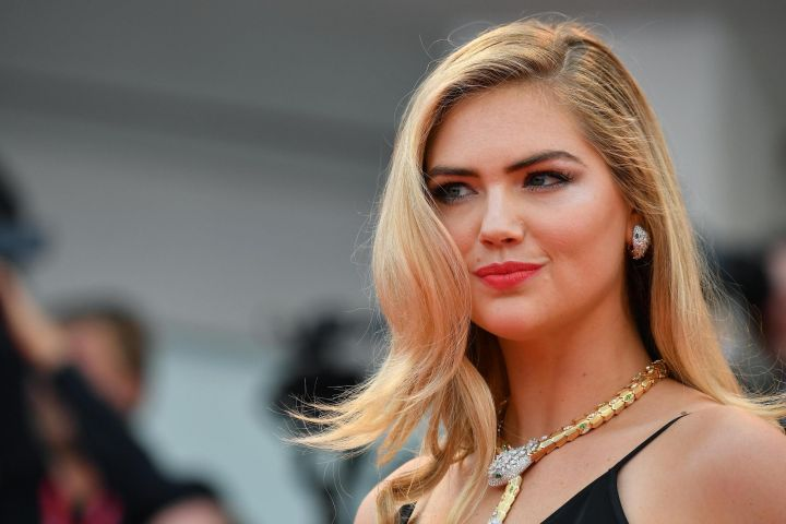 Mandatory Credit: Photo by ETTORE FERRARI/EPA-EFE/Shutterstock (10374700ca) Kate Upton poses for the photographers as she arrives for the premiere of 'Marriage Story' during the 76th annual Venice International Film Festival, in Venice, Italy, 29 August 2019. The movie is presented in the official competition 'Venezia 76' at the festival running from 28 August to 07 September. Marriage Story - Premiere - 76th Venice Film Festival, Italy - 29 Aug 2019
