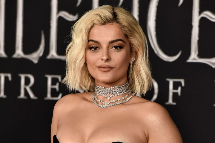 Bebe Rexha at the 'Maleficent: Mistress of Evil' film premiere in Los Angeles