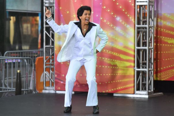 Hoda Kotb's 'Saturday Night Fever'