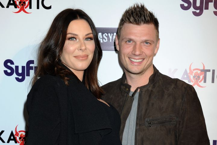 Nick Carter and Lauren Kitt. Photo by Broadimage/Shutterstock