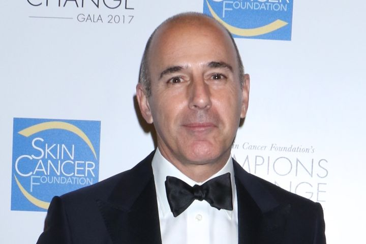 Matt Lauer. Photo: Gregory Pace/Shutterstock