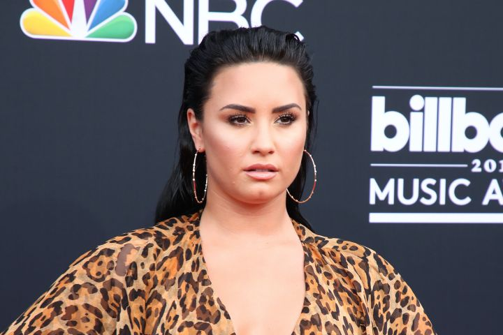 Demi Lovato. Photo: Chelsea Lauren/Shutterstock
