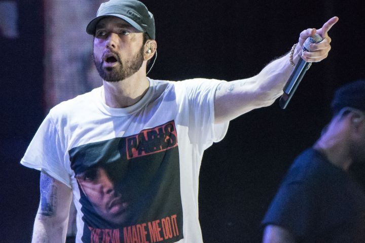 Eminem - Rmv/Shutterstock