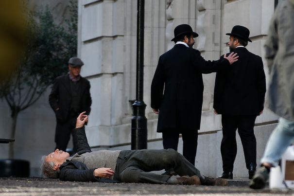 Benedict Cumberbatch Spotted In London