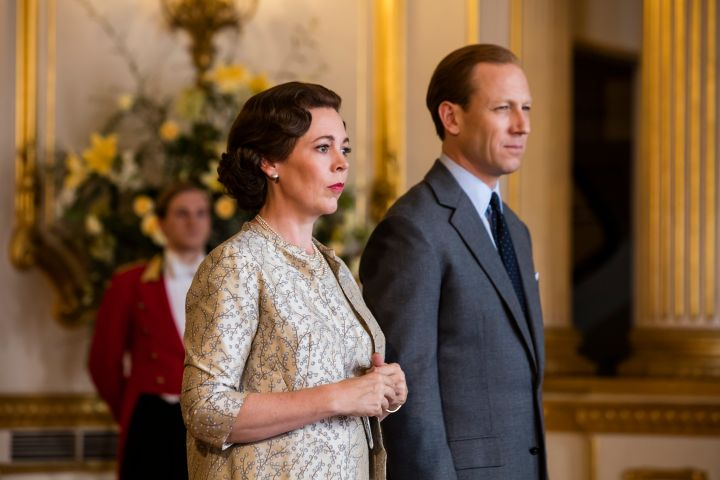 Olivia Colman as the Queen and Tobias Menzies as Prince Philip: Sophie Mutevelian/Netflix