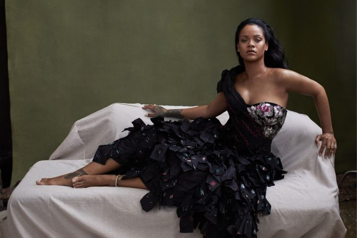 Rihanna. Photo: Ethan James Green for Vogue