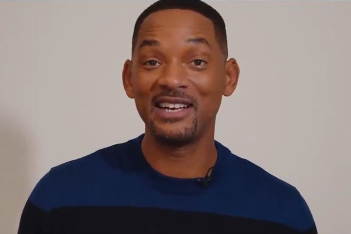 Will Smith. Photo: Twitter/The World's Biggest Sleep Out