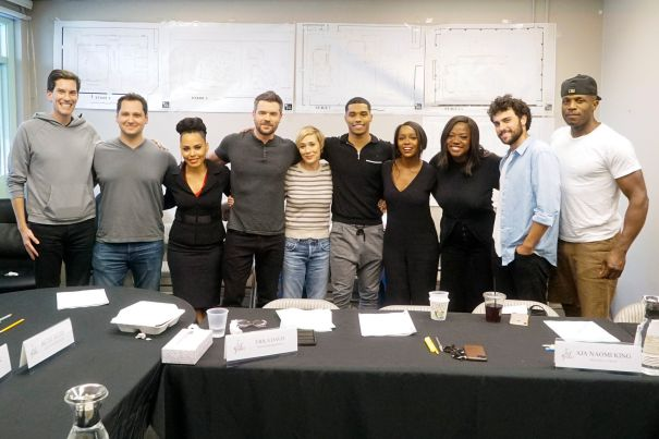 Cast Of 'How To Get Away With Murder' At Finale Table Read