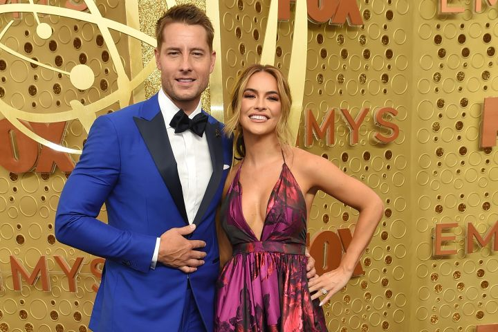 Justin Hartley and Chrishell Stause. Photo: CP Images