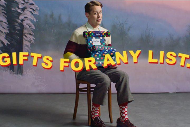 Macaulay Culkin. Photo: Happy Socks