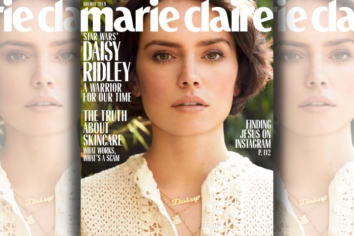 Daisy Ridley. Photo: Nicole Nodland for Marie Claire