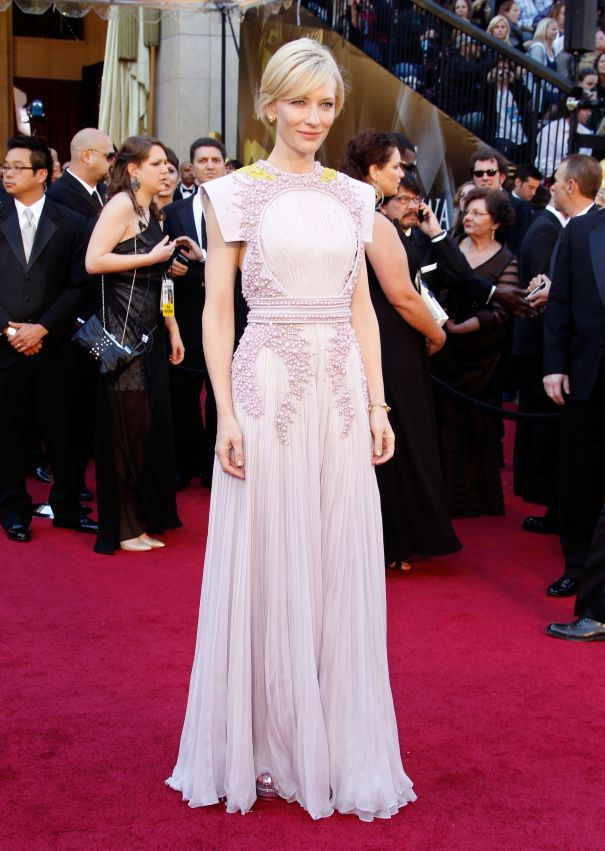 Cate Blanchett In Couture At The 2011 Academy Awards