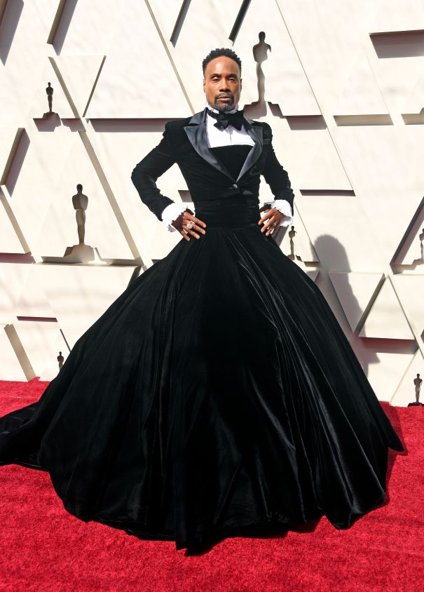 Billy Porter's Tuxedo Gown At The 2019 Oscars