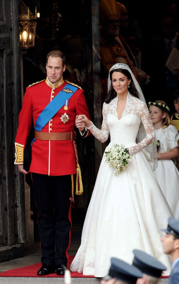 Kate Middleton In McQueen At Her 2011 Royal Wedding
