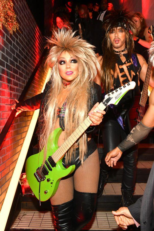 Mariah Carey Channels Her Inner Metal Rocker