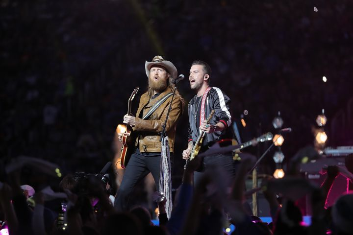 Brothers Osborne. Photo by Leon Halip/Getty Images