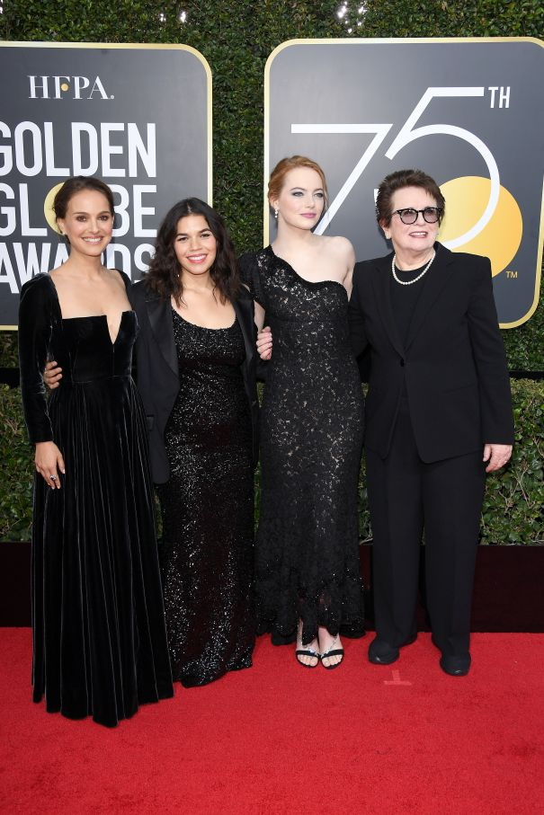 A Time For Solidarity At The 2018 Golden Globes