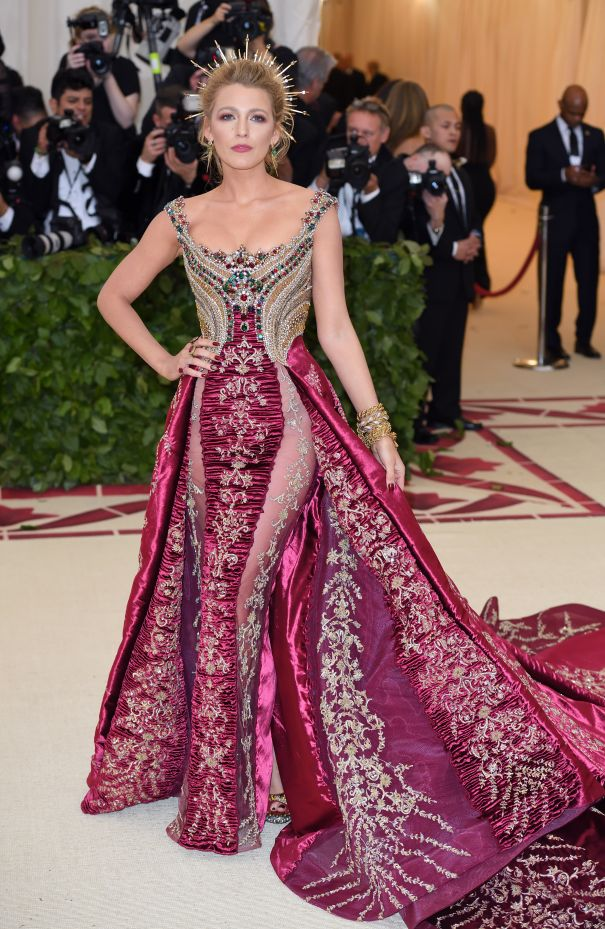 Blake Lively In Versace At The 2018 Met Gala