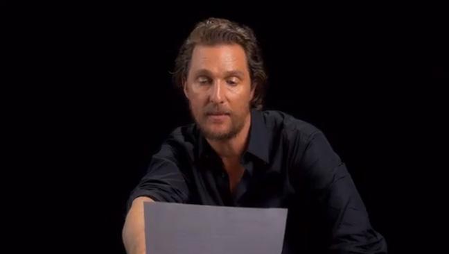 Matthew McConaughey - Twitter/@WMag