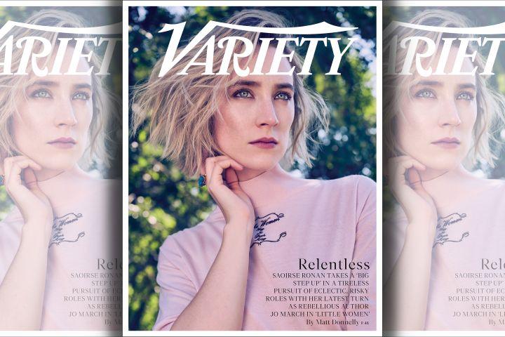 Saoirse Ronan. Photo: Beau Grealy for Variety