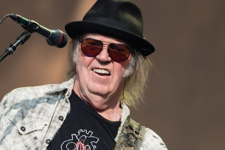 Neil Young. Photo: Richard Isaac/Shutterstock